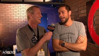 Kevin Talks with Nerd HQ Founder Zachary Levi at Comic-Con 2014