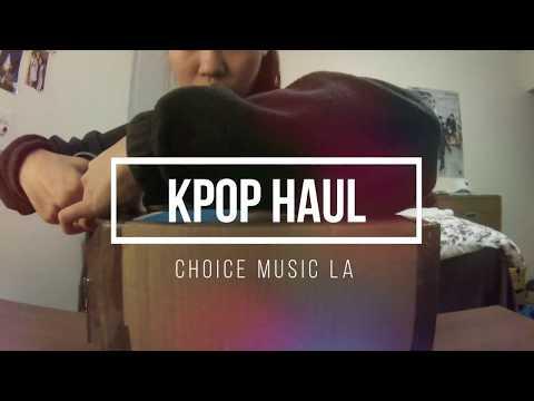 Kpop Haul & Unboxing || Choice Music LA