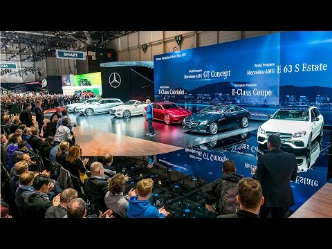 Live from Geneva Motor Show 2017 – Mercedes-Benz cars press