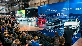 Live from Geneva Motor Show 2017 – Mercedes-Benz cars press conference.(Highlights at the Mercedes-Benz Cars stand at the 87th Geneva Motor Show include the new E Class Cabriolet as well as the extensively revised GLA., 2017-03-07T08:34:30.000Z)