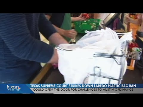 Cities can't ban plastic bags, Texas Supreme Court decides