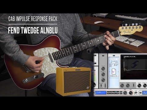 Cabinet IR  Fend TwEdge AlnBlu  Playthrough Fender The Edge + Alnico Blue