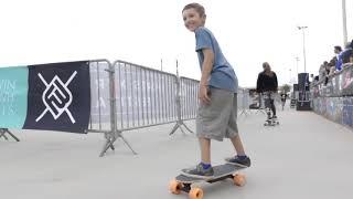 Ornii le Mini Coyote skate board electrique