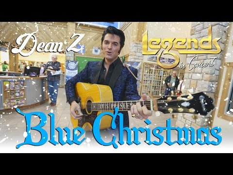Dean Z | Elvis Tribute Artist | Blue Christmas (Cover) | Branson Missouri