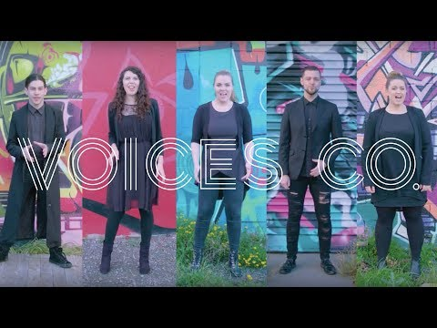 Voices Co. - Winning Medley NAKED CHOIR 2017 - All Star / Beethoven's 5th / Rise