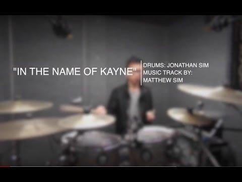 """IN THE NAME OF KANYE"" - Matthew Sim | Jonathan Sim Drum Jam"