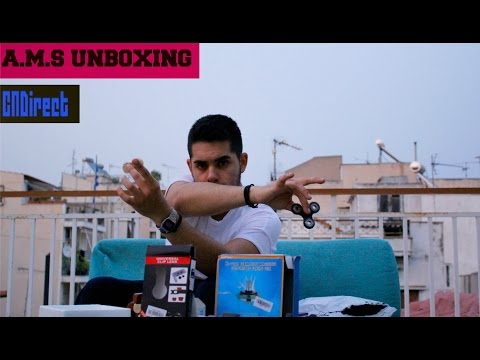 A.M.S Unboxing | ΚΟΥΤΙ ΕΚΠΛΗΞΗ !!