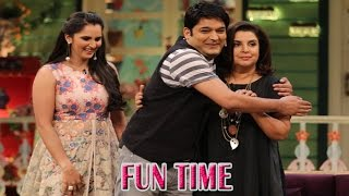 The Kapil Sharma Show | Sania Mirza and Farah Khan | Funny Interview