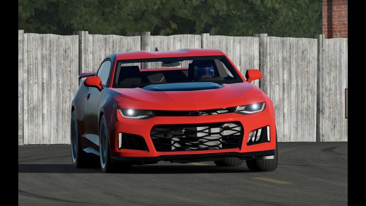 Chevy Camaro Zl1 Around The Top Gear Track Youtube