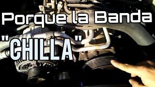 """Porque La Banda de un Auto Hace Ruido """"Chilla"""""""