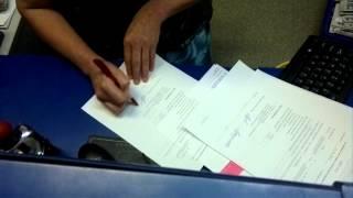 Підписання акта Ф. 51 на пошті