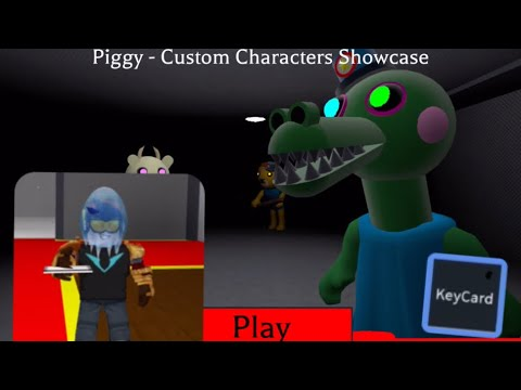 Piggy Roblox Key Card How To Get The Keycard In Piggy Custom Characters Youtube