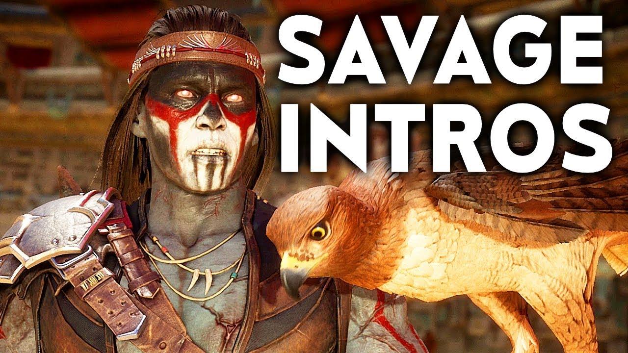 Mortal Kombat 11 Nightwolf's Most Savage Dialogue Intros MK11 thumbnail