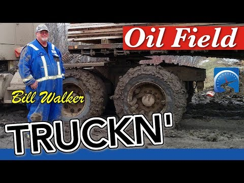How To Make Lots Of Money Driving Truck In The Oil Fields Of Canada's North