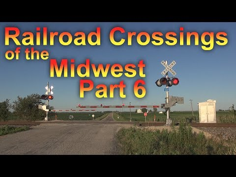 Railroad Crossings of the Midwest Part 6