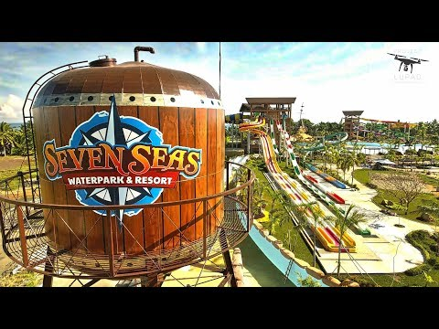 Seven Seas Waterpark and Resort August 2017 Progress Update 4K