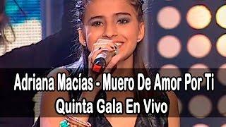 Adriana Macías - Muero De Amor Por Ti (Lilo & Stitch) | (Programa 11) 5ta Gala Factor X Kids 2015