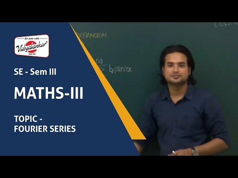 Engineering Maths III - Fourier Series lecture | Vidyalankar Classes