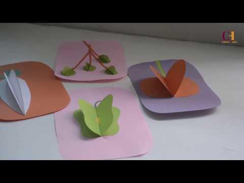 DIY KIDS CRAFT - Make 3D Vegetables with Paper!