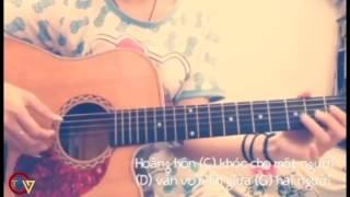 Vô hình trong tim em cover guitar - Hot girl đàn giỏi hát hay