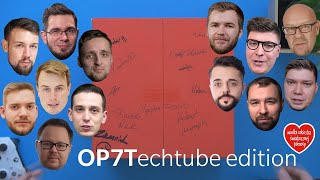 """OnePlus 7T od TechTube'a dla WOŚP - zestaw """"kolekcjonerski"""" (⌐ ͡■ ͜ʖ ͡■)"""