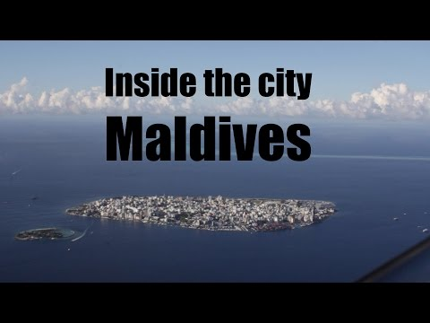 Inside the capital of the Maldives