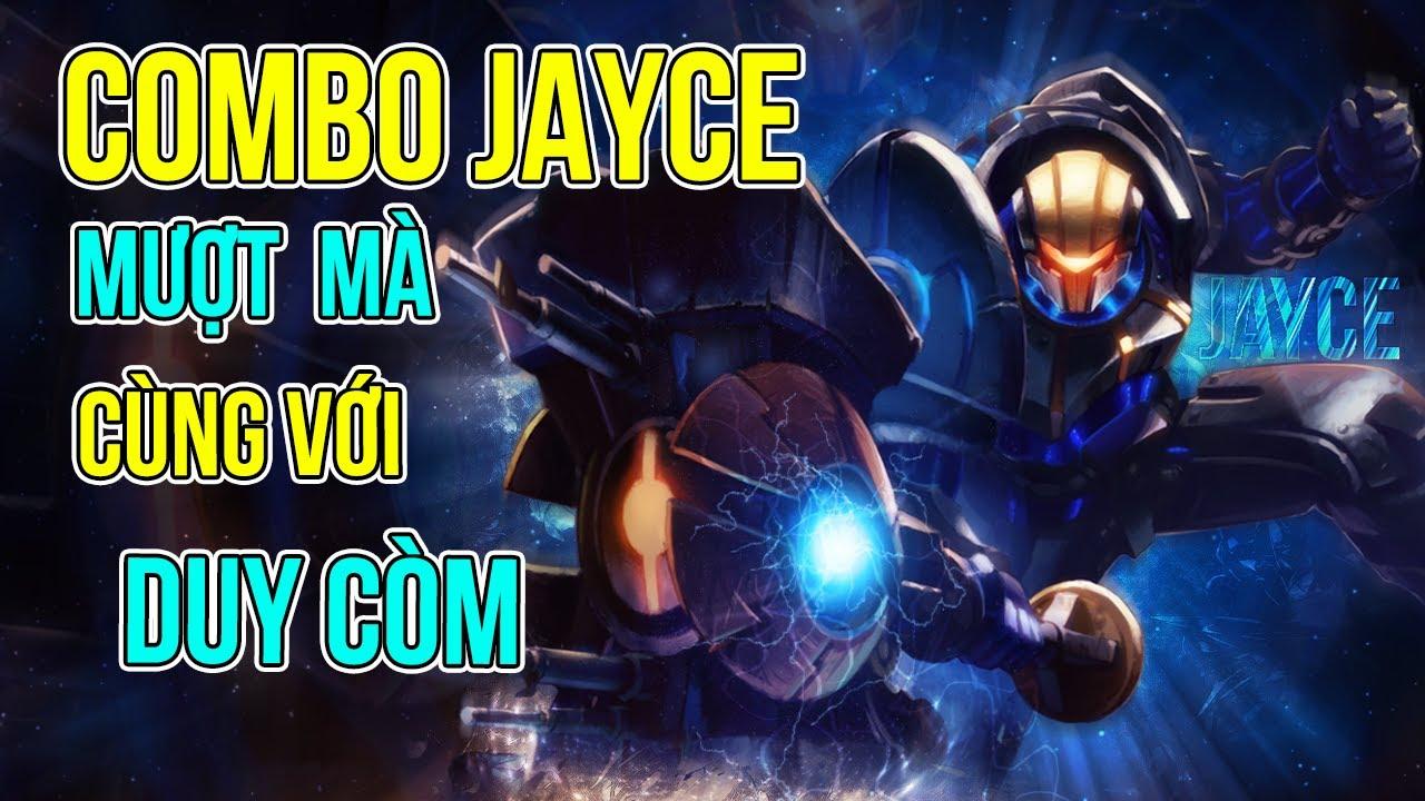 (TIPS/ TRICKS) Hướng Dẫn Combo Jayce Chuẩn 100% Cùng Giáo Sư Duy Còm