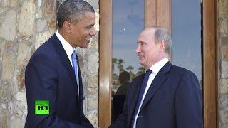 Путин и Обама встретятся на переговорах в Нью-Йорке
