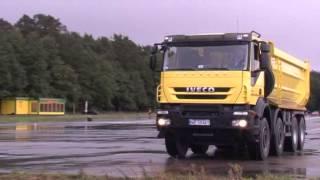 IVECO Trakker 8x4 - Test drive (Poland)