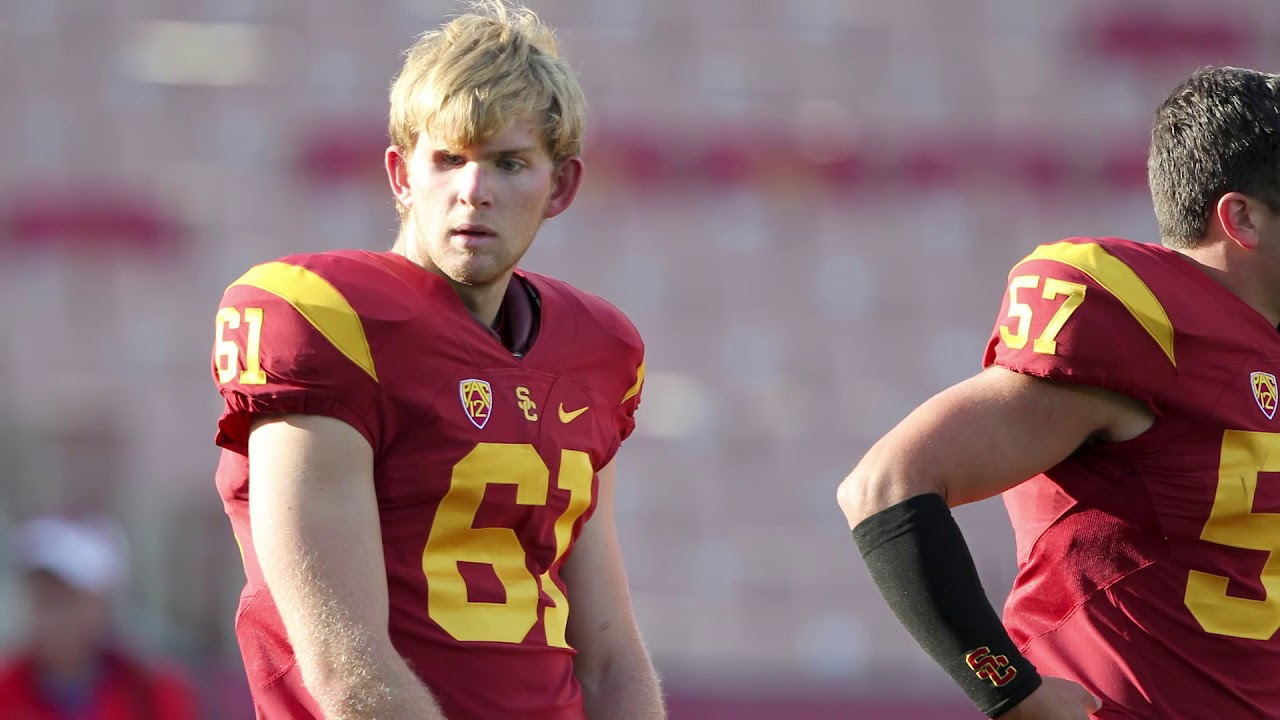 Seahawks Head Coach Pete Carroll Reacts To Jake Olson Long Snapping For Usc Youtube