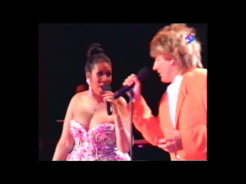 Aretha Franklin with Rod Stewart  This Old Heart Of Mine