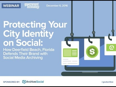 How Deerfield Beach, Florida Defends Their Brand with Social Media Archiving