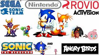 Sonic The Hedgehog and Angry Birds - Luca's life is in Danger - Music Test