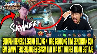 SKILL BHS INGGRIS GW JAGO BGT COK BACOD DISCORD WITH SKYWEE - MOBILE LEGENDS INDONESIA
