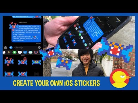 Create IOS Sticker Pack - Tutorial