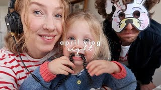 LUNCH WITH FRIENDS & THE BEST WORK INTERRUPTIONS | APRIL VLOGS