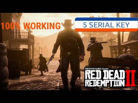 100%WORKING SERIAL KEY FOR RED DEAD REDEMPTION 2 PC - YouTube