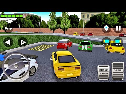 Car Driving & Parking School Simulator Ep9 - Android IOS gameplay