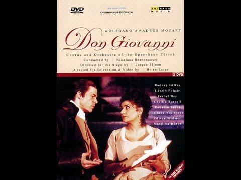 Don Giovanni (W.A. Mozart) - Opernhaus Zürich (2001) - Primera parte