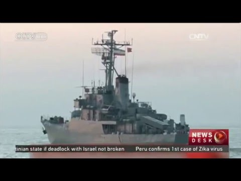 Iranian navy fires Noor cruise missles in drill
