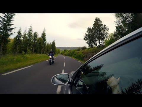 GoPro Hero 4: VW Golf GTI touring French mountains | In 2.7K