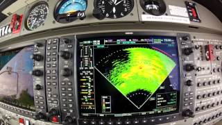 DA42-VI IFR to Barth, Germany EDBH; RNAV approach