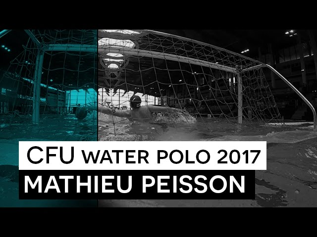 CFU Water Polo 2017 - Interview Mathieu Peisson