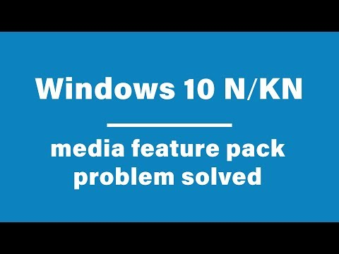 Windows 10 N Or KN Media Feature Pack Problem Solved   M Tips BD   Manik Ahmed