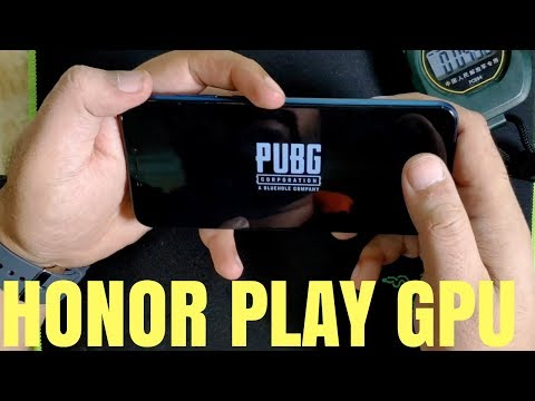Honor Play GPU Turbo ! PUBG TEST Hindi