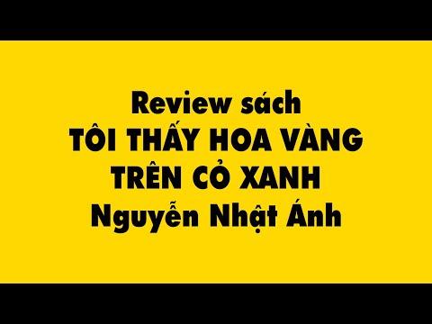 Review sách TÔI THẤY HOA VÀNG TRÊN CỎ XANH - Nguyễn Nhật Ánh - Duy Anh Web