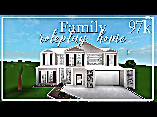 Bloxburg : Family roleplay house 97k