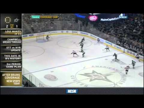 Carl Soderberg's Sick Pass Leads To Loui Eriksson Goal
