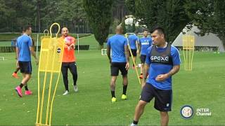 ALLENAMENTO INTER REAL AUDIO 17 09 2015