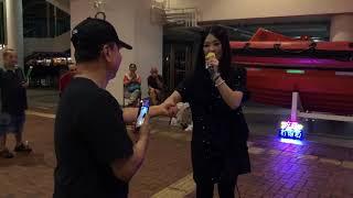 中秋佳節前夕《夢伴+擁抱你離去》(2018-09-22)中國香港歌手彭梓嘉